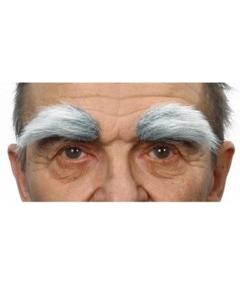 Self eyebrows heather gray white