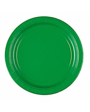 Pappteller grün
