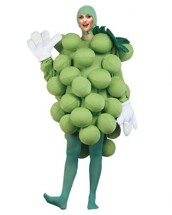 Wine grapes costume Deluxe green