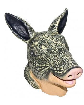Armadillo latex mask