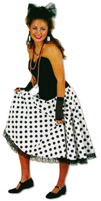 Elasticated Polka Dot Skirt