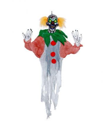 Hängender Clown mit LED Augen