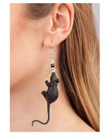 Halloween Earrings With Mouse 2 Pcs.