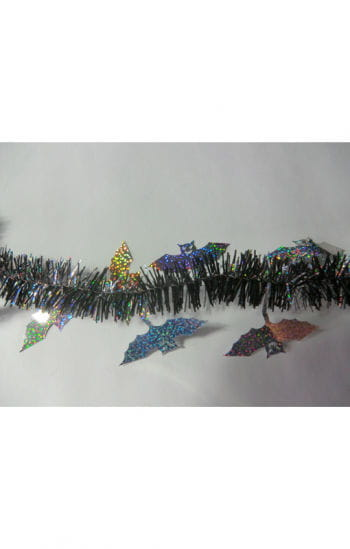 Halloween fringe garland bat