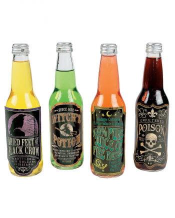 Halloween Getränkeflaschen Aufkleber