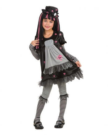 Gothic Doll Child Costume S S