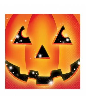 Halloween Pumpkin Napkins 16 Pcs