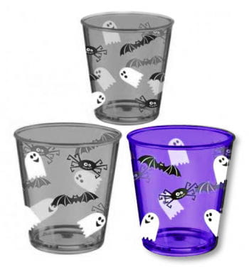 Halloween Plastic Cup Purple