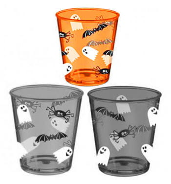 Halloween Plastikbecher Orange