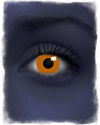 UV Orange Contact Lenses