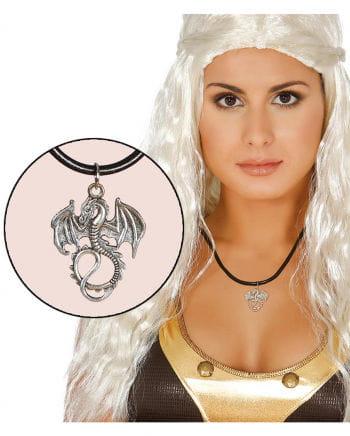 Halskette mit Drachen-Anhänger