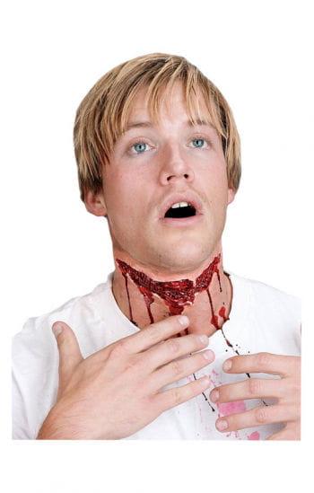 Halsschnitt Wunde
