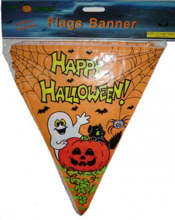 Happy Halloween Pennant Banner