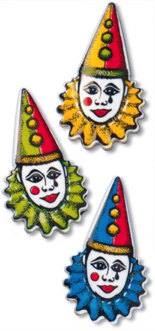 Harlequin Badge Var Colours