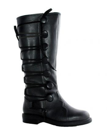 Renaissance Men's Boots Black