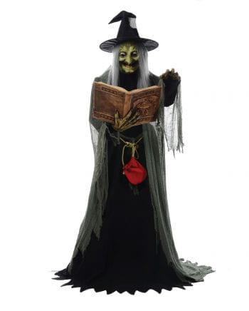 Hexenfigur mit Zauberspruch & Bewegung