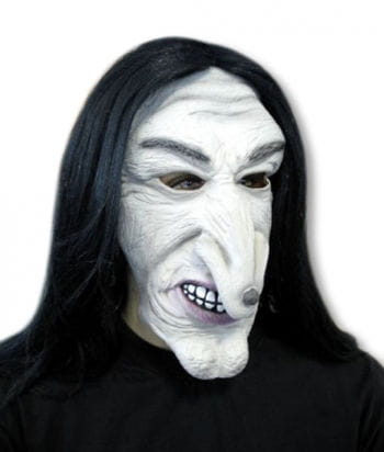 Witch Mask with Hair