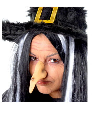 Witch Nose With Wart And Rubber Band