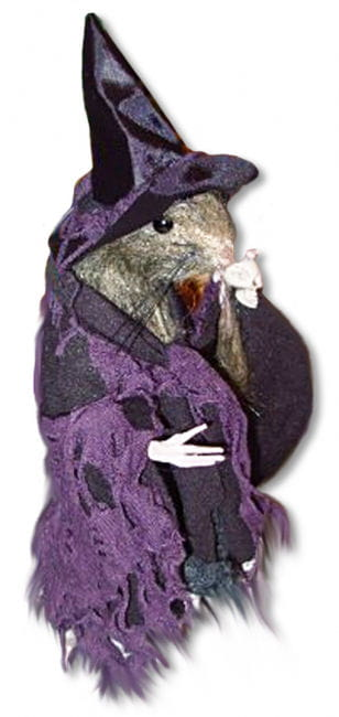 Witch Rat Purple