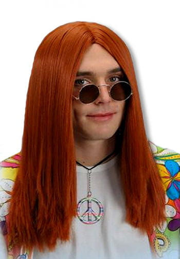 Hippie Wig Red Brown