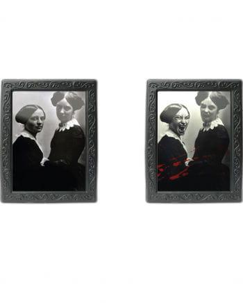 Hologram Portrait - vampire sisters -