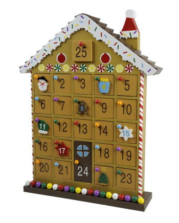 Wood Advent house