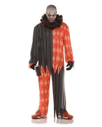Evil Clown Kostüm mit Rüschenkragen
