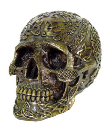 Celtic Skull bronze