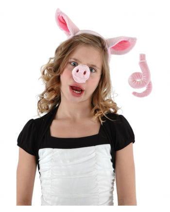 Schweinchen Verkleidungs Set