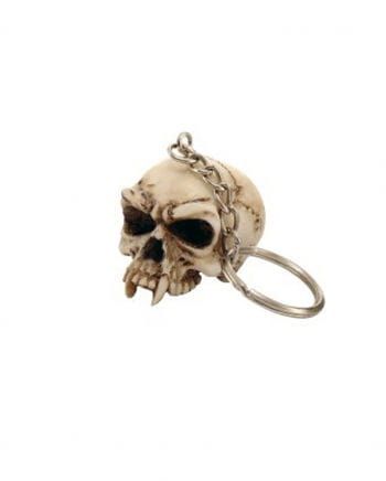 Skull keychain without mandible