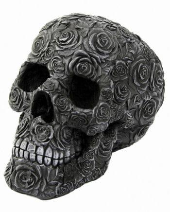 Totenschädel Black Rose Death