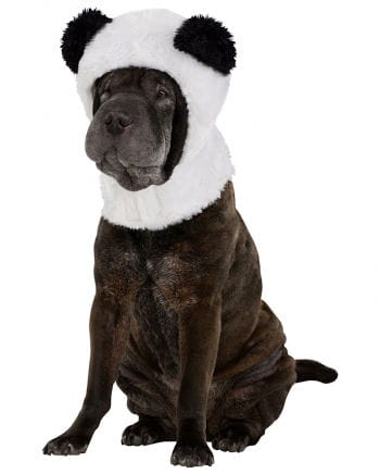 Dog hoodie panda