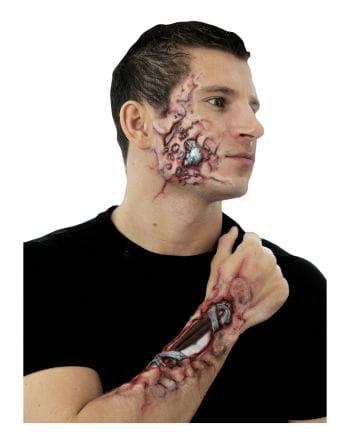 Robot latex wound