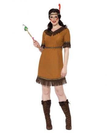 Indianer Squaw Kostüm