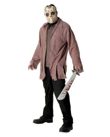 Jason Voorhees Mask and Ragged Shirt