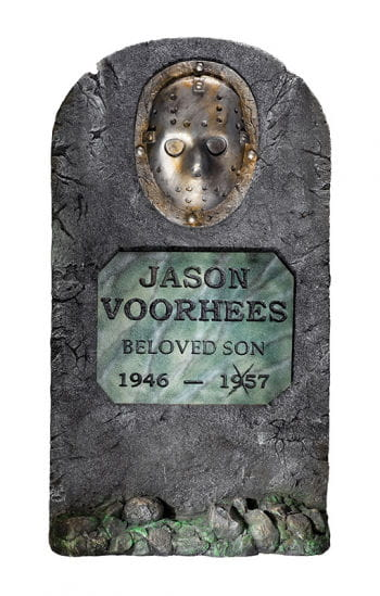 Jason Vorhees Grabstein