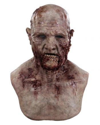 Kieferbruch Zombie Silikon Maske