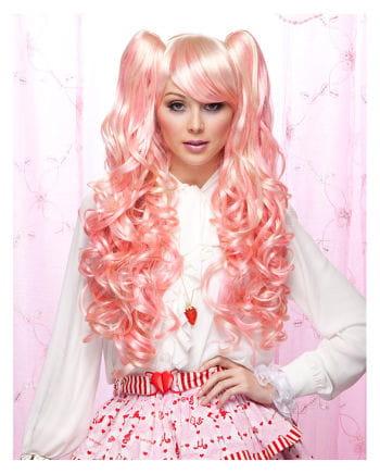 Damenperücke Joi pink-vanilla