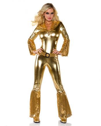 Jumpsuit Hot Pants Gold XL