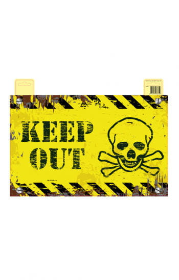 Keep Out Door Sign