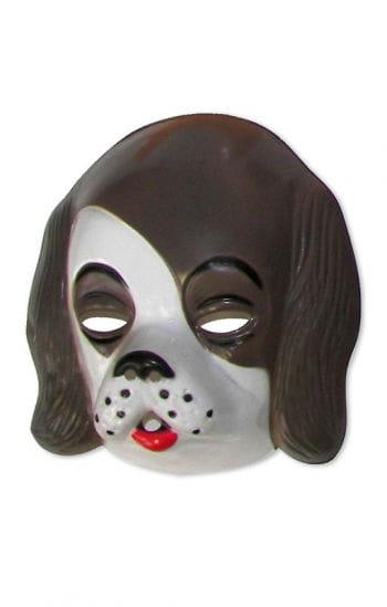 Children mask dog Daisy