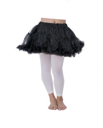 Kinder Petticoat schwarz