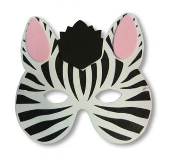 Child Mask Zebra