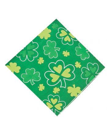 Shamrock napkins