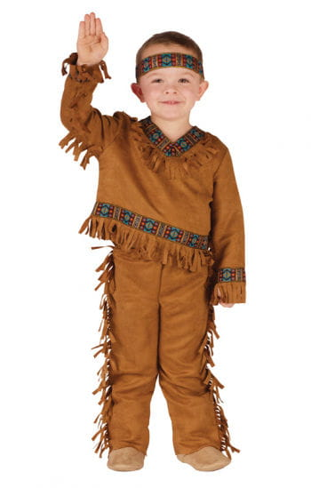 Kleiner Indianer Kostüm