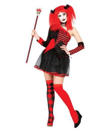 Harlequin Queen Woman costume
