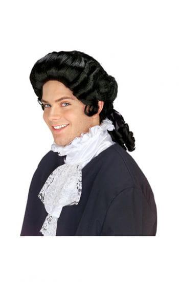 Colonial master wig black