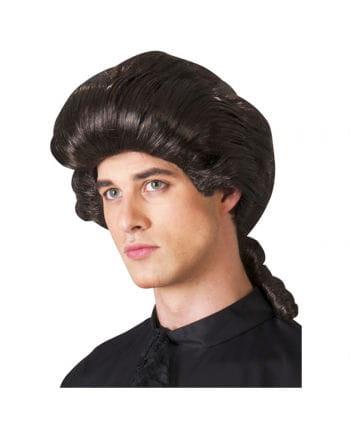 Baroque Brown Men's Wig