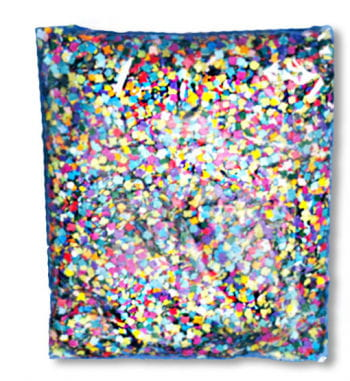 Confetti Multicoloured 1 kg