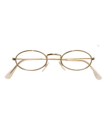 Glasses with oval glasses